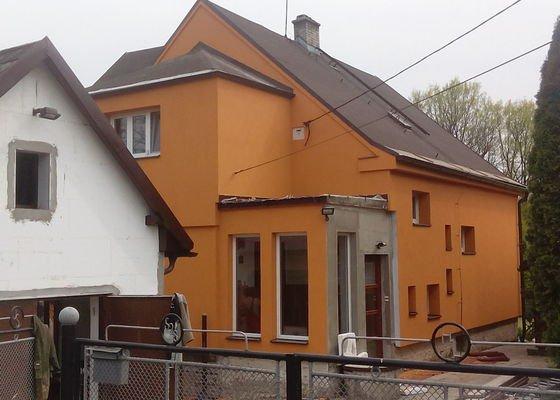 Zateplení a oprava fasády RD