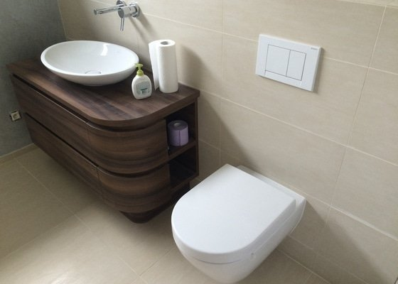 Instalace koupelen a WC