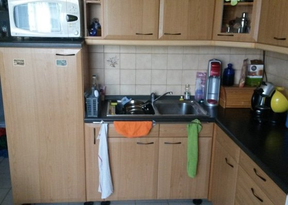 Dodělání skříňky do kuchyně + výměna pracovní desky