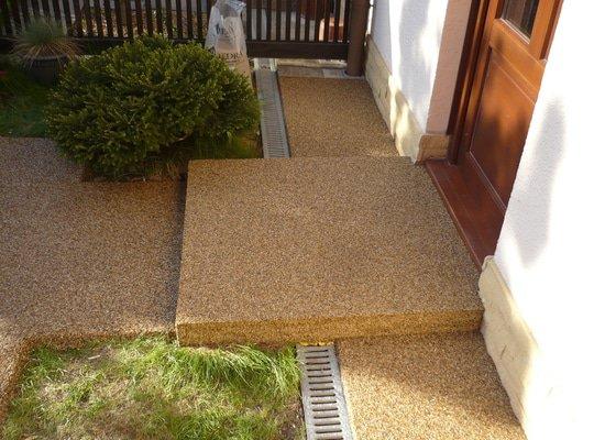 Kamenný koberec exteriér