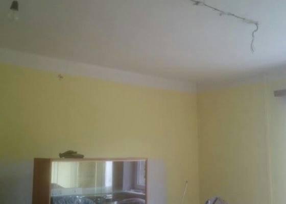 Zednické práce,snížení stropu s izolací