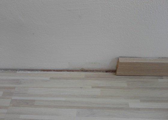 Montáž chybějících podlahových lišt Parador (cca 15 m)