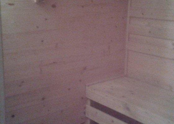 Sauna a rekonstrukce