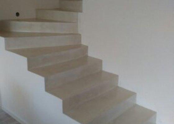 Betonové dekorativní schody
