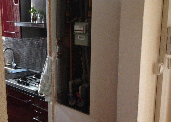 Montáž sádrokartonového stropu v kuchyni