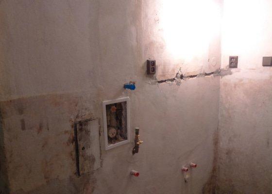 Topení + koupelna