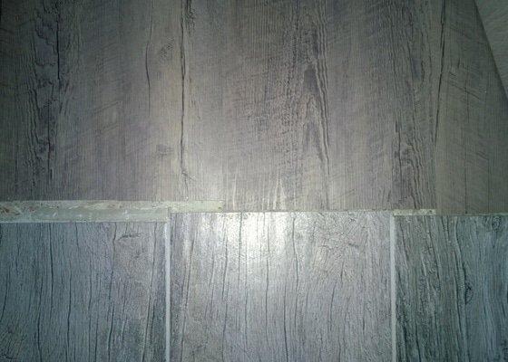 Nivelace, pokládka vinylové podlahy