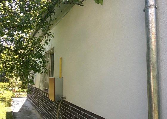 Oprava omítky domu a garáže