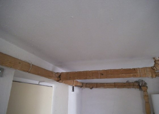 Izolace stropu polystyrenem