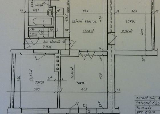 Renovace omítek cca 200m2 v bytě 4+kk