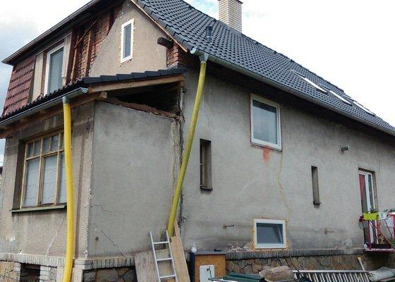 Zateplovací fasáda rodinného domu