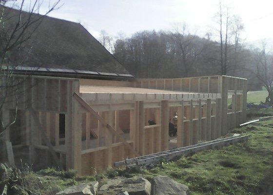 Dřevostavba-Přístavba Základny Rychlebské stezky