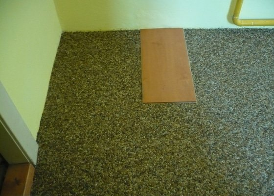 Kamenny koberec do chodby
