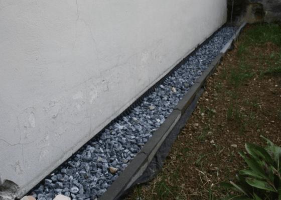 Hydroizolace venkovní zdi domu