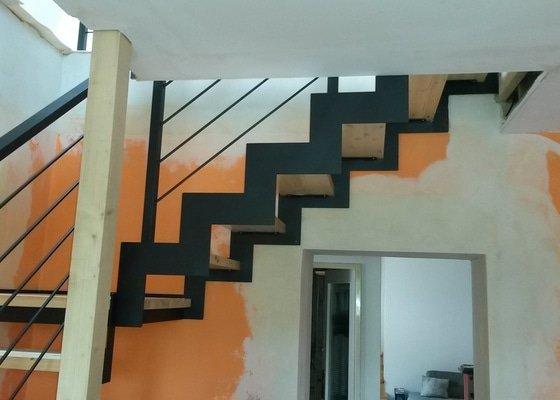 Výroba a montáž interiérového schodiště