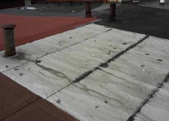 Výměna střešní krytiny na řadové garáži