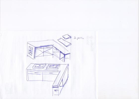 Truhlářské práce skříňka- koupelna