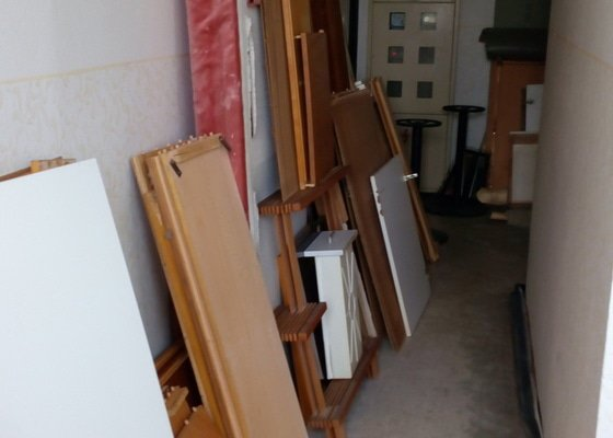 Odvoz nábytku - kuchyn, obyvak 14-16.6.