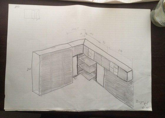 Skříň + skříňky do ložnice