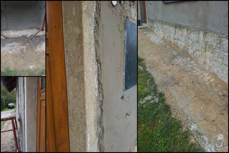 Nahození fasády chalupy v obci Dolní Město: Vysledek4