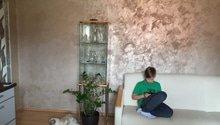 Dekorativní úprava stěn 1 pokoj