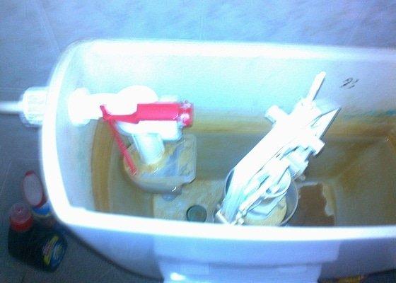 Výměna splachovacího mechanismu u WC