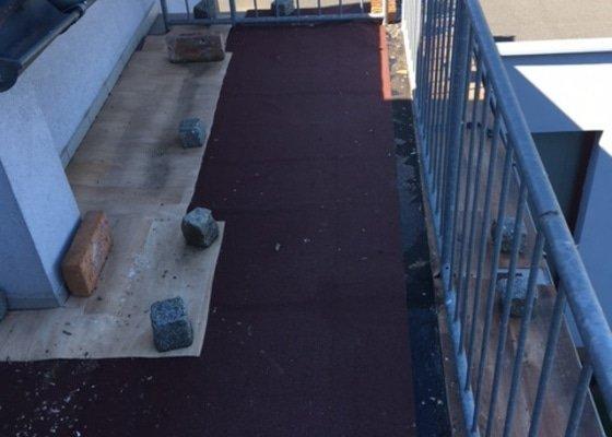 Rekonstrukce krytiny balkonu
