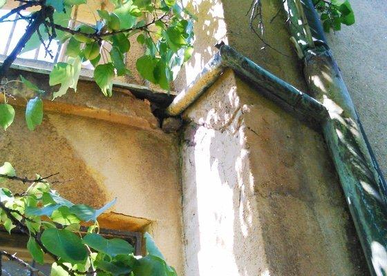 Oprava odtoku vody z balkonu - Praha 6