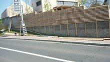 plot obloženi dřivem