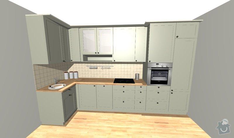 Výroba kuchyňské linky a vestavěných skříní: Kuchyne