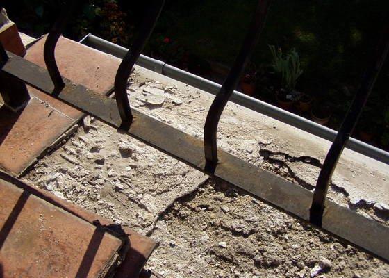 Rekonstrukci terasy