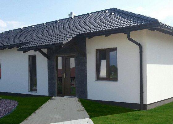Přízemní montovaný dům s garáží
