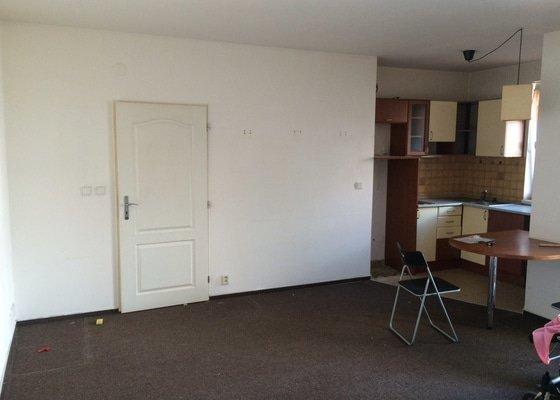 Malířské práce (byt 1+kk)