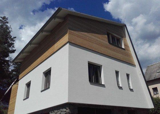 Poptávka zateplené fasády