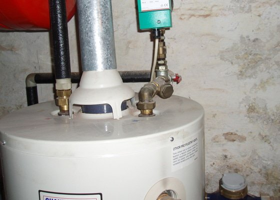 Výměna kotle na vodu     Qantum 110     L