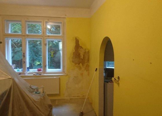 Vymalování bytu 2+ malá kuchňka