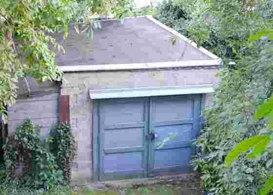 Plochá střecha, garáž, obnova