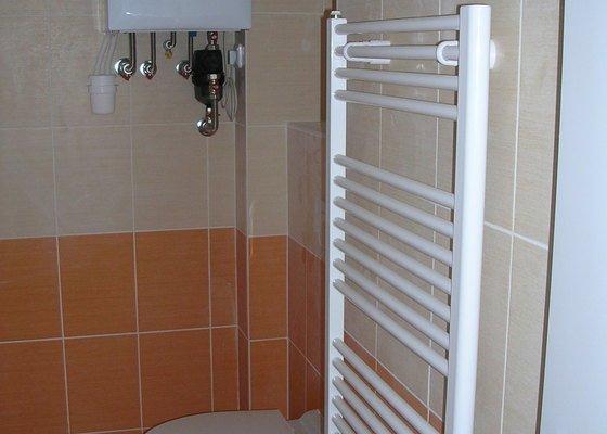 Rekonstrukce koupelny - Voda, Topení, Plyn, Kanalizace