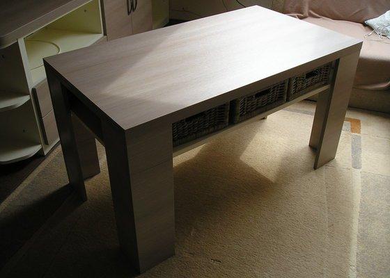 Výroba nábytku do obyvacího pokoje