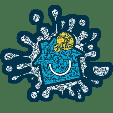 Koláž předmětů z oboru NejŘemeslníci